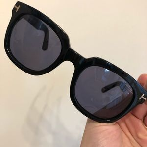 892c319550d96 Tom Ford Accessories - Tom Ford Campbell TF 198 01b Black FT 0198